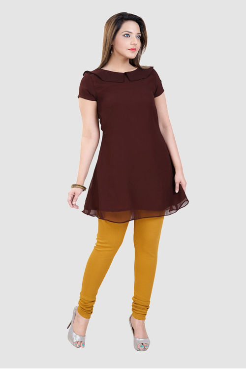 Georgette Tunic with Peter Pan collars