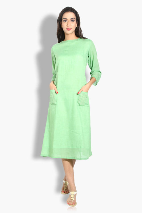 Pure Cotton Pocket Summer Dress