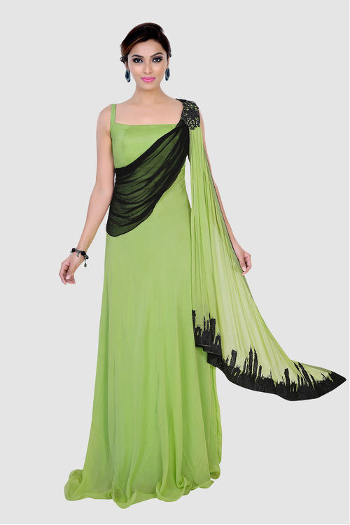 Skyline Drape Gown
