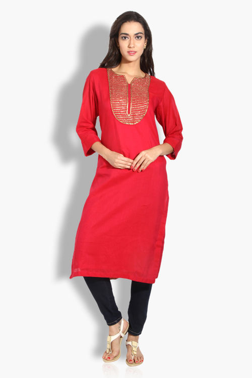 Elegant Cotton Kurta