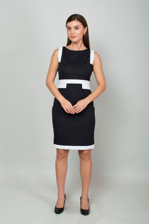 Black Office Sheath Dress