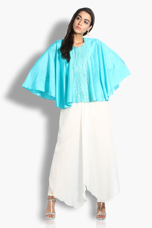 Cape and Drape Palazzo Set