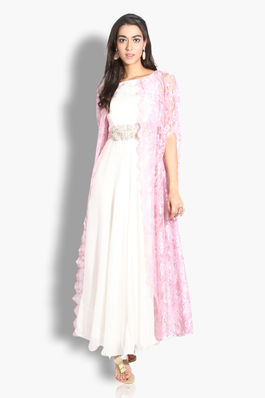 Ethereal Cape Gown