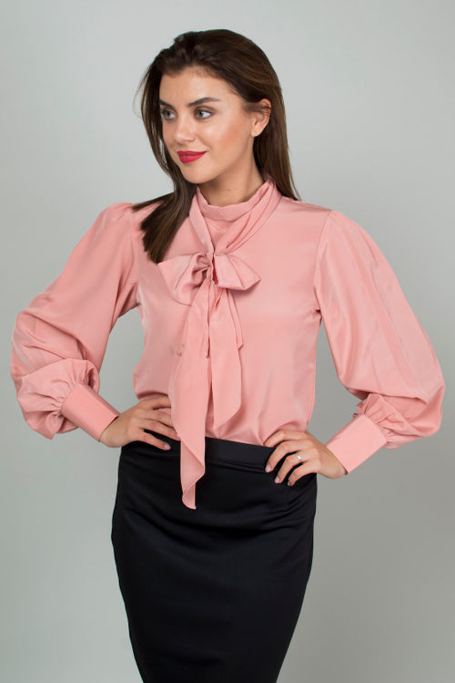 Bubblegum Bow Top