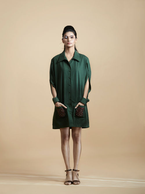 Box-fit Shirt Dress