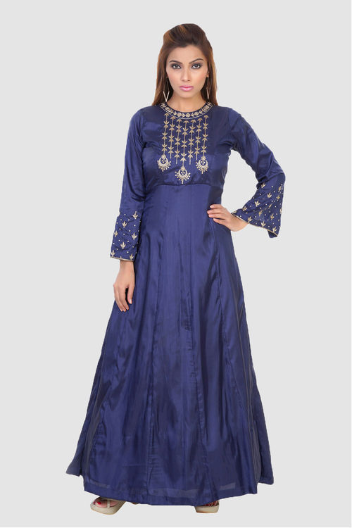 Chandbaali Silk Gown
