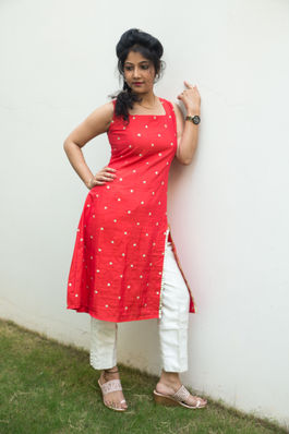 Sequins Embroidered Kurti