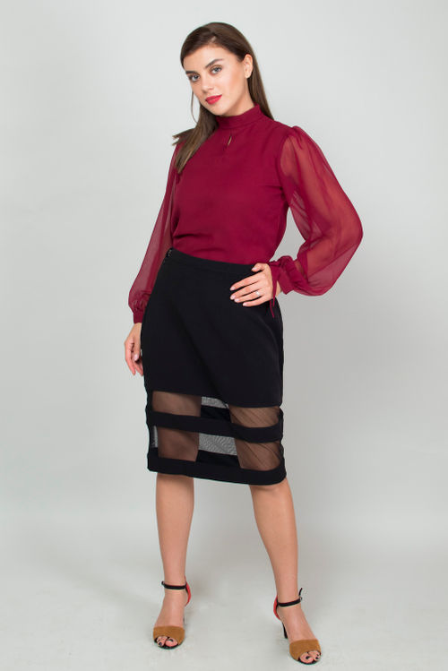 Corporate to Cocktail Skirt