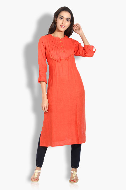 Pure Linen Cotton Kurta