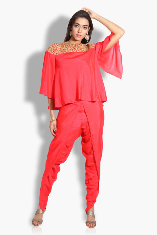 Cape and Pant Set