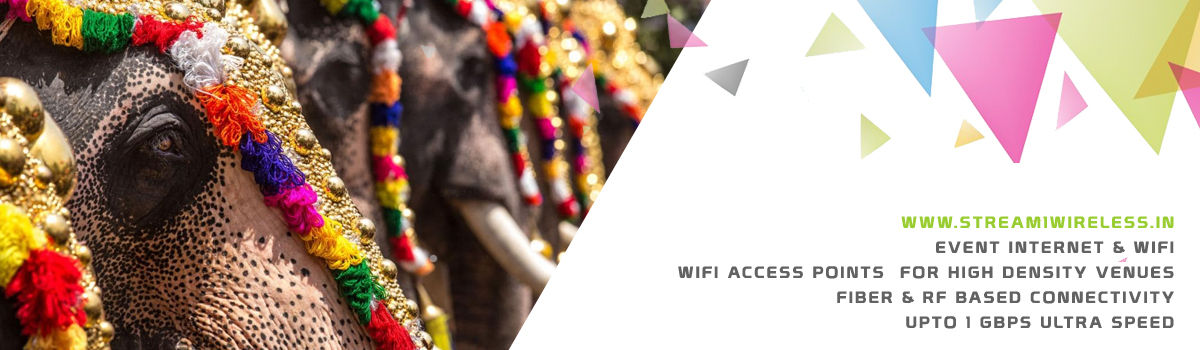 High Speed Event Temporary Internet and Wifi Service Provider adoor