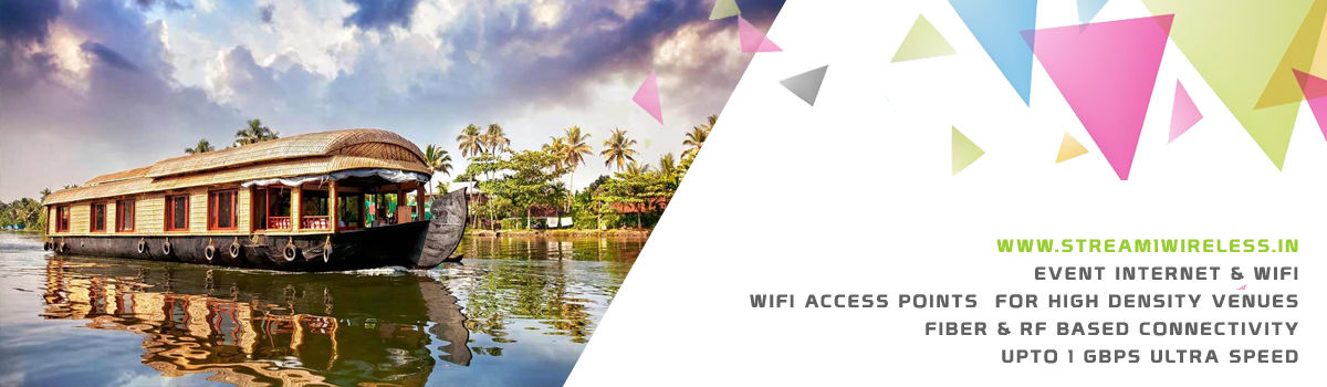 High Speed Event Temporary Internet and Wifi Service Provider alappuzha