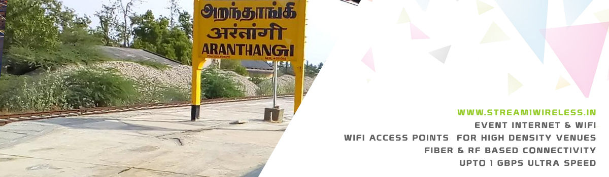 High Speed Event Temporary Internet and Wifi Service Provider aranthangi