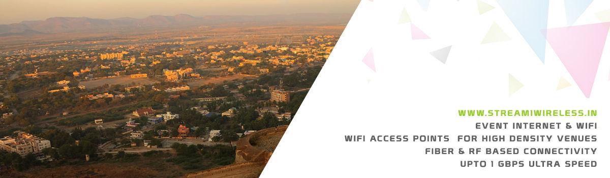 High Speed Event Temporary Internet and Wifi Service Provider ballari