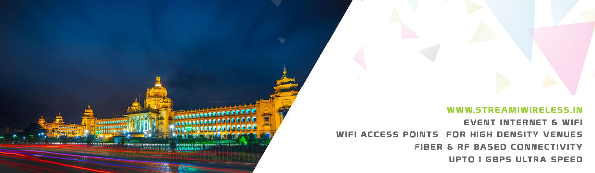 High Speed Event Temporary Internet and Wifi Service Provider bengaluru