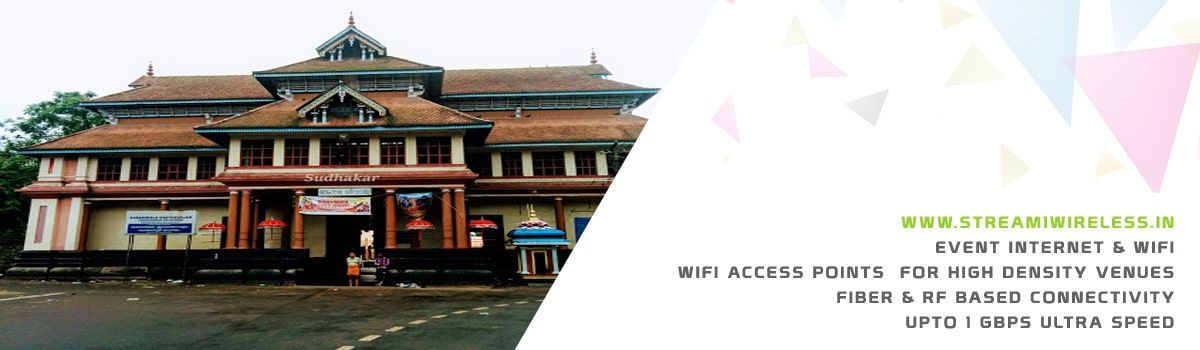 High Speed Event Temporary Internet, Wifi & IT Infrastructure Service Provider chengannur