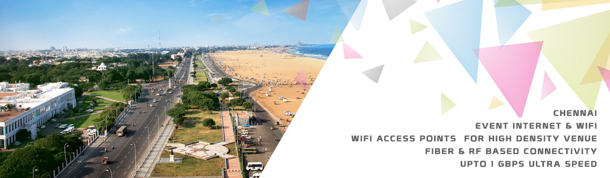 High Speed Event Temporary Internet and Wifi Service Provider chennai