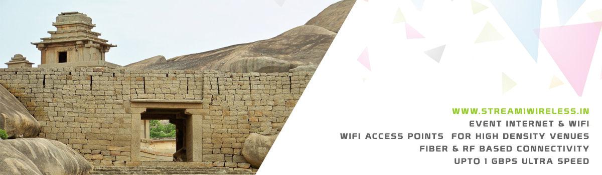 High Speed Event Temporary Internet, Wifi & IT Infrastructure Service Provider chitradurga