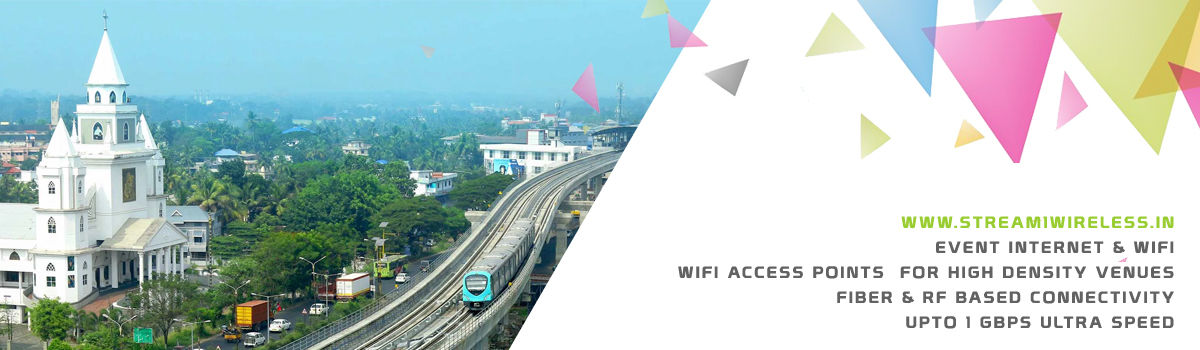 High Speed Event Temporary Internet and Wifi Service Provider ernakulam
