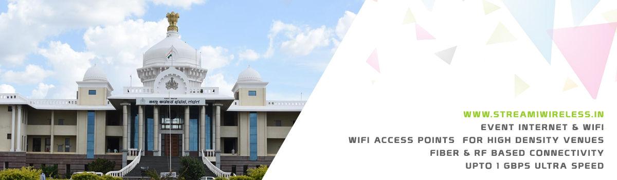 High Speed Event Temporary Internet, Wifi & IT Infrastructure Service Provider gadag