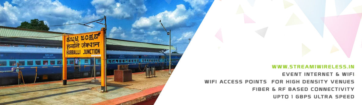 High Speed Event Temporary Internet, Wifi & IT Infrastructure Service Provider hubballi