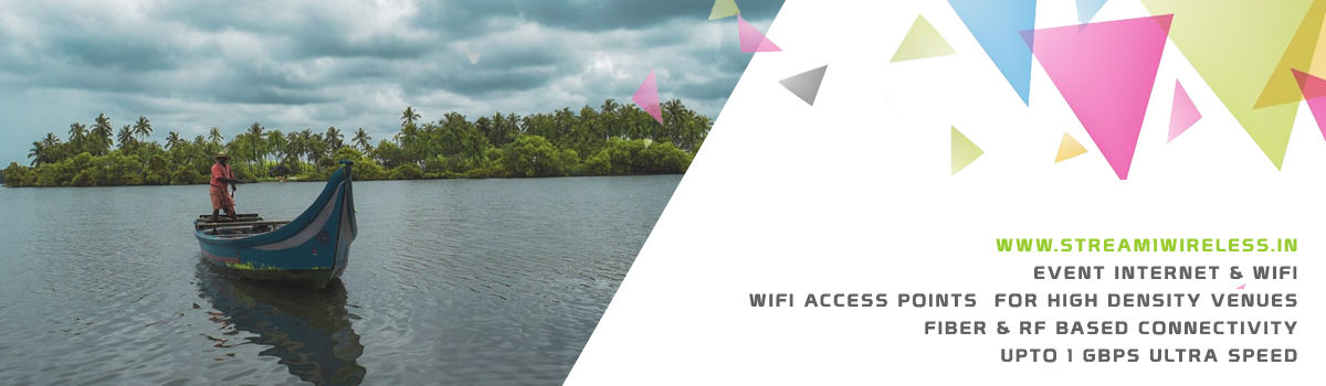 High Speed Event Temporary Internet and Wifi Service Provider kannur