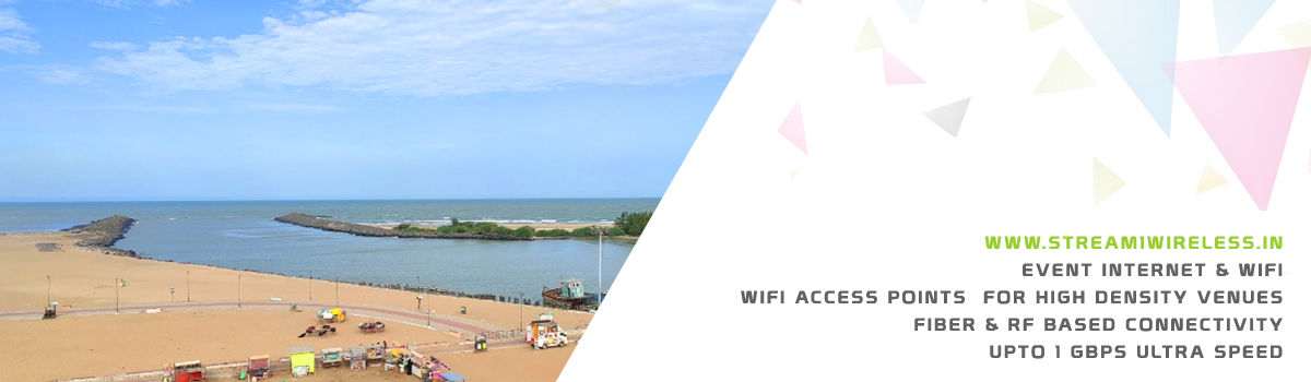 High Speed Event Temporary Internet and Wifi Service Provider karaikal