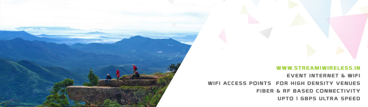 High Speed Event Temporary Internet and Wifi Service Provider kodaikanal