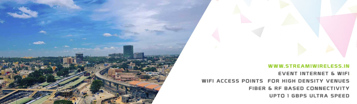High Speed Event Temporary Internet, Wifi & IT Infrastructure Service Provider kolar