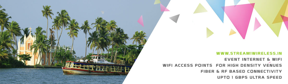 High Speed Event Temporary Internet and Wifi Service Provider kumarakom