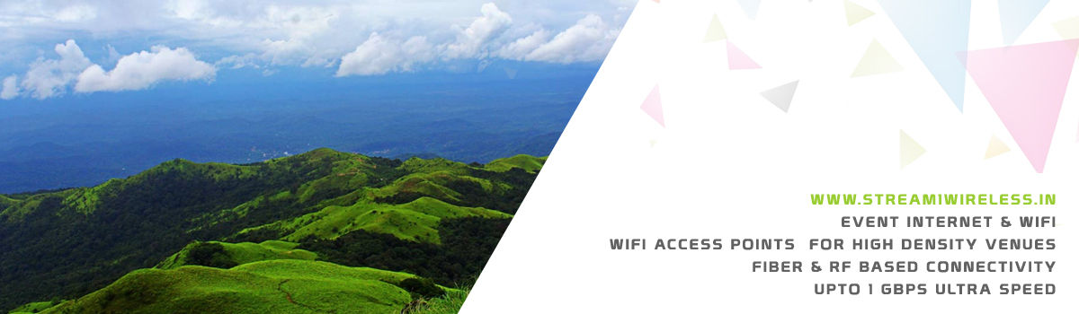 High Speed Event Temporary Internet, Wifi & IT Infrastructure Service Provider madikeri