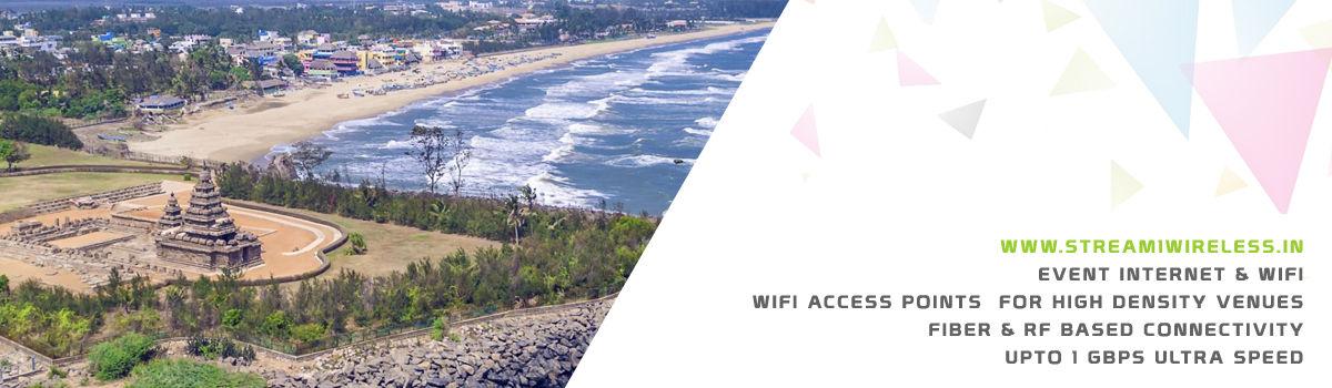 High Speed Event Temporary Internet and Wifi Service Provider mamallapuram