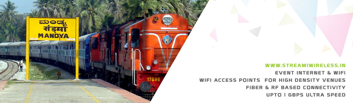 High Speed Event Temporary Internet and Wifi Service Provider mandya