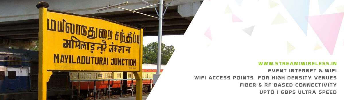 High Speed Event Temporary Internet and Wifi Service Provider mayiladuthurai