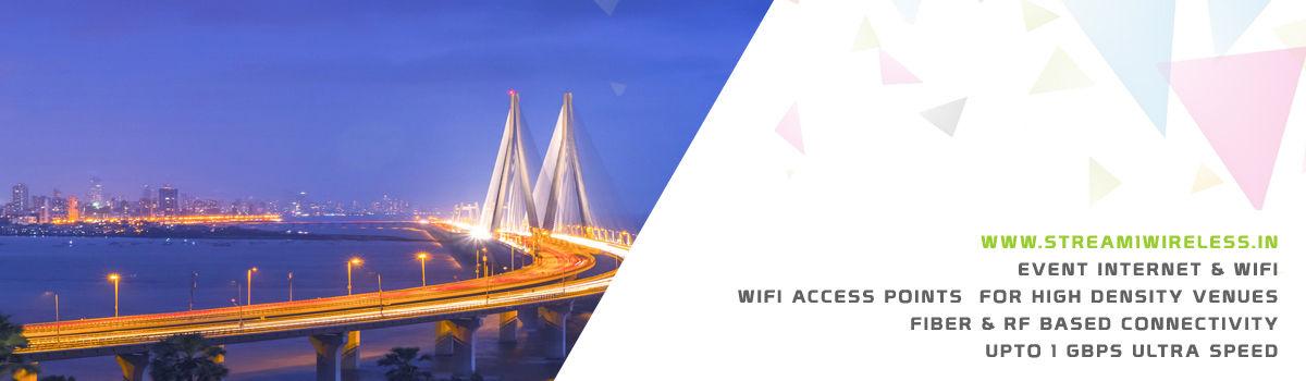 High Speed Event Temporary Internet and Wifi Service Provider mumbai