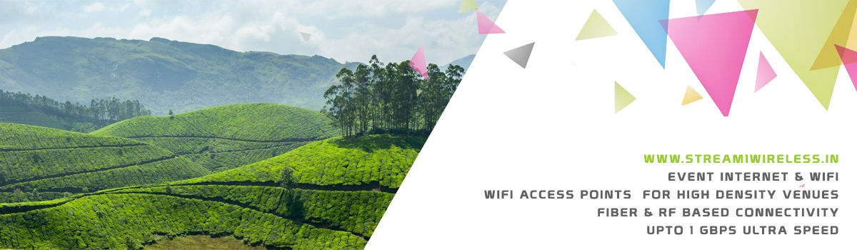 High Speed Event Temporary Internet and Wifi Service Provider munnar