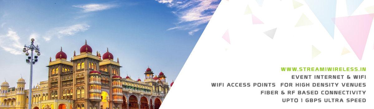 High Speed Event Temporary Internet, Wifi & IT Infrastructure Service Provider mysuru