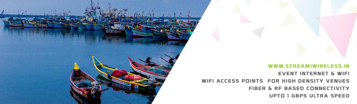High Speed Event Temporary Internet and Wifi Service Provider nagapattinam