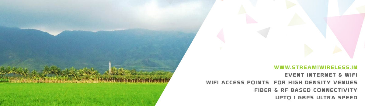 High Speed Event Temporary Internet and Wifi Service Provider nagercoil
