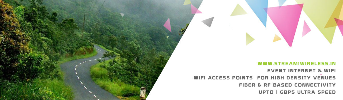 High Speed Event Temporary Internet, Wifi & IT Infrastructure Service Provider pathanamthitta