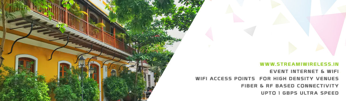 High Speed Event Temporary Internet and Wifi Service Provider puducherry