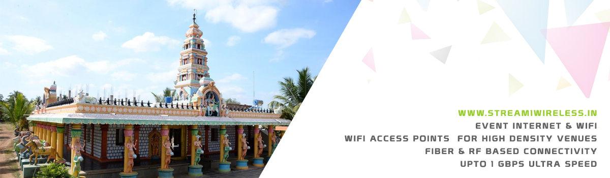 High Speed Event Temporary Internet, Wifi & IT Infrastructure Service Provider ranebennuru
