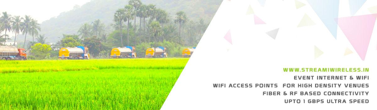 High Speed Event Temporary Internet, Wifi & IT Infrastructure Service Provider sethiyathope