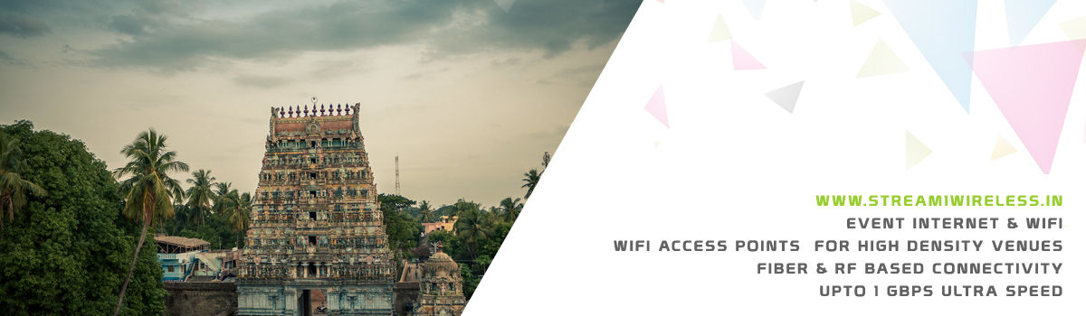 High Speed Event Temporary Internet, Wifi & IT Infrastructure Service Provider sirkali