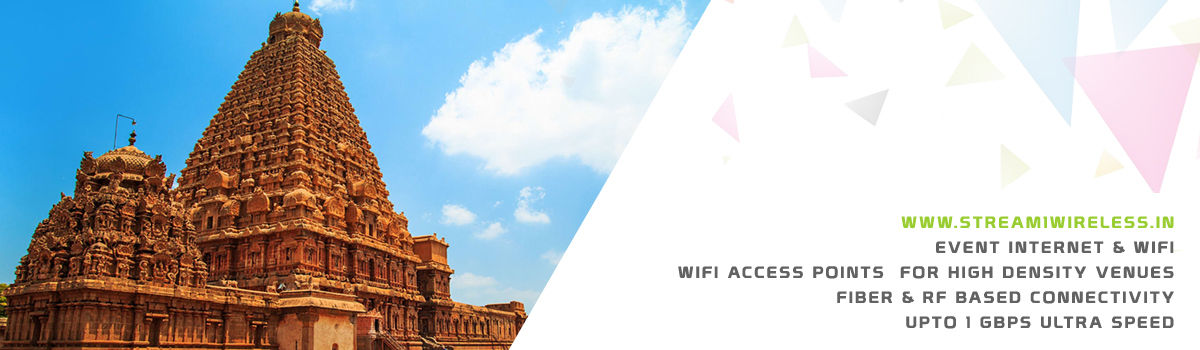 High Speed Event Temporary Internet, Wifi & IT Infrastructure Service Provider tanjore