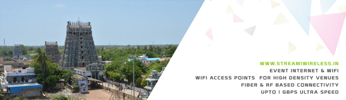 High Speed Event Temporary Internet and Wifi Service Provider thirukadaiyur