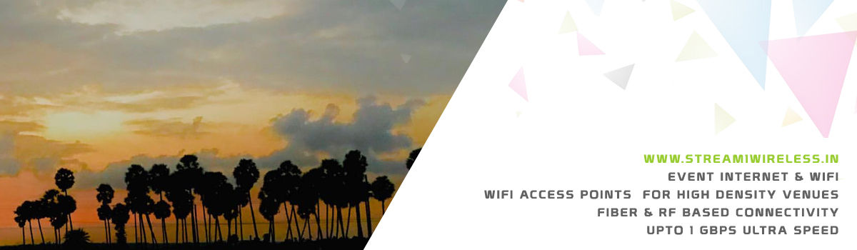 High Speed Event Temporary Internet and Wifi Service Provider thiruvallur
