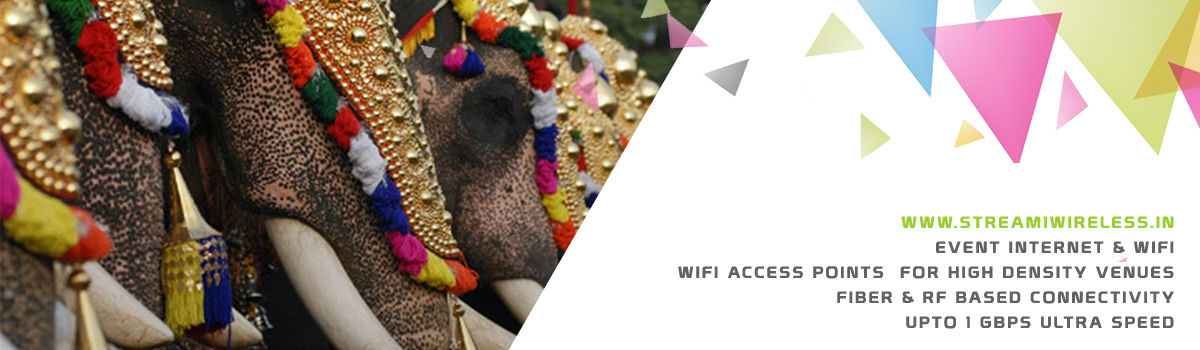 High Speed Event Temporary Internet and Wifi Service Provider thrissur