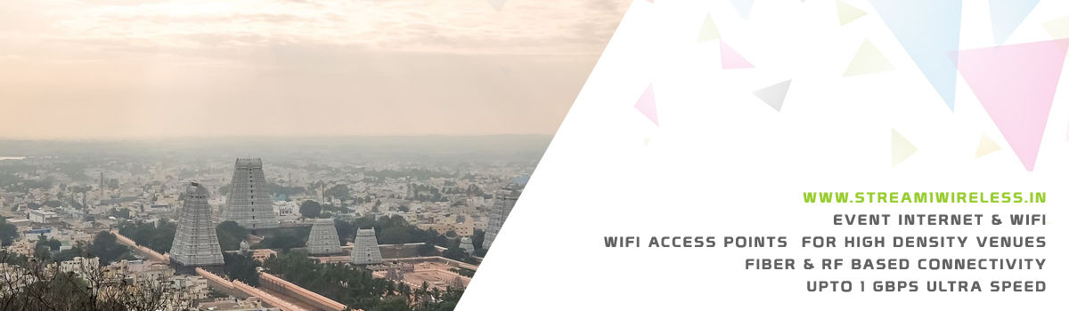 High Speed Event Temporary Internet and Wifi Service Provider tiruvannamalai