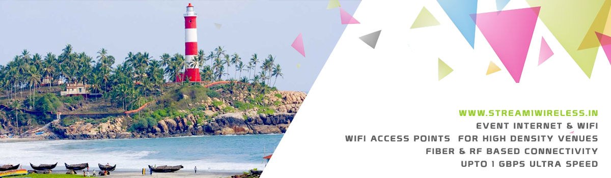 High Speed Event Temporary Internet and Wifi Service Provider trivandrum